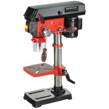 """General International 10"""" 5 Speed Drill Press (with Cross Pattern Laser and LED Light)"""