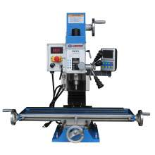 """Variable Speed 27-1/2"""" × 7"""" Drill Mill Brushless Motor 1.5HP DRO"""