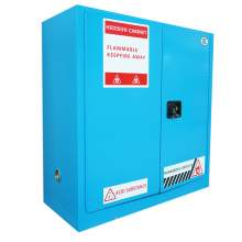 "Corrosive Cabinet 30 Gallon 44"" x 43"" x 18"" Manual Door"