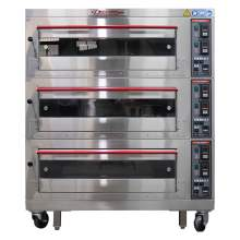 CPBM Triple Electric Deck Oven 6 pan 220v 3ph 18kw Made In Taiwan