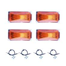 Rectangle Clearance Side Marker Lights Led For Boat Trailers