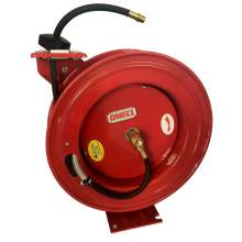 """Economical Hose Reel with Guide Arm 3/8"""" x 50ft Hose, 290PSI"""