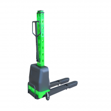 1100Lb. Capacity Portable Self-Lifting Pallet Loader 45x21'' Forklift