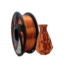 3D Printer PLA Plus Silk Red Copper Filament 1.75mm 2.2Lbs