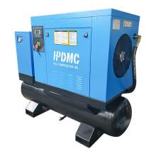 39CFM Rotary Screw Air Compressor 230V 3-P 10HP with 80gal Tank Dryer