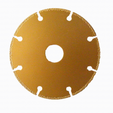 "Diamond Cutting Disc For Angle Grinder  4-1/2"" x 7/8"" x 2/32"""