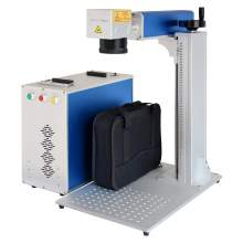 "SFX 30W Fiber laser Marking Machine Metal Marking 4.3*4.3""  EZ Cad FDA"