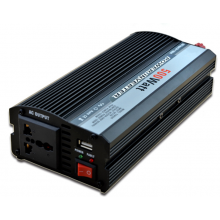 Intelligent 500W Car Power Inverter DC12V to AC110V AC220V