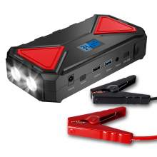 600A Peak 12000mAh 12V Car Jump Starter Up To 6.0L Gas Or 5.0L Diesel