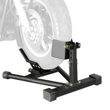 Black Motorcycle Front Wheel Chock