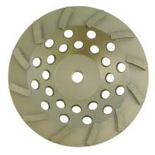 """NED 4.5"""" x 7/8""""-5/8"""" Double Row Premium Turbine (Cup Wheel)"""