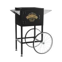 Trolley Cart  for 8 oz Popcorn Machine, Popcorn Maker, Black