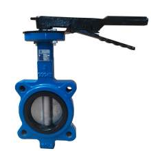 """Lug Style Butterfly Valve Ductile Iron 3"""" Pipe Size Class 150"""
