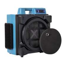 XPOWER X-4700AM 3 Stage HEPA Air Scrubber w/ GFCI Power Outlet, Meter