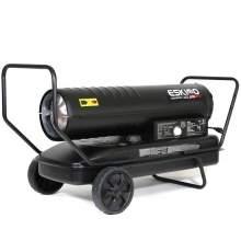 Kerosene Forced Air Heater 215,000 BtuH 5,000 sq. ft. 13gal. 1.6ghp.