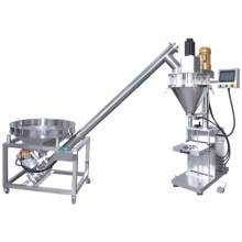 Auto Powder Filler and Auger Feeder Packaging  System Without Scale