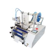 Semi-Auto Cylinder Top Labeling Machine