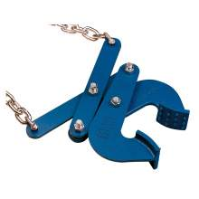 """Double Scissor Pallet Puller 5000Lbs Capacity Jaw Opening 3"""" Chain Length 29.8"""""""