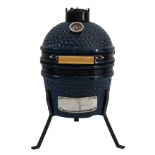 13 Inch Mini Kamado Ceramic Charcoal Grill Outdoor Kitchen Camping