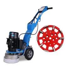 Floor grinder 10'' grinding diameters &10'' metallic plate