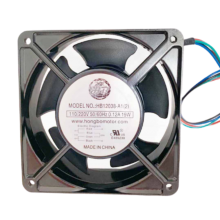 4.7''110vac Standard square double Electric pressure Axial fan