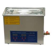 Laboratory 1-7/10Gal Ultrasonic Cleaner 6L 180W Power Adjustable 110V