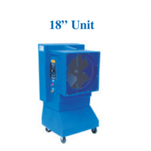 """18"""" Portable Evaporative Cooler Variable Speed"""