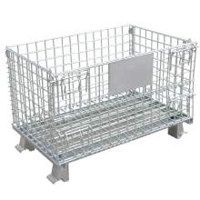 "Foldable Wire Container 48 x 40 x 30 1/2""4000 Lb Capacity No Caster"