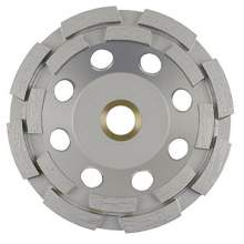 """NED 5"""" x 5/8-11"""" Double Row General Purpose Premium (Cup Wheel)"""