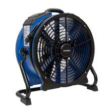 XPOWER X-48ATR Heat Resistant Axial Air Mover Fan w/ Power Outlets
