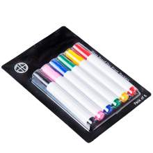 Glass Board Dry Erase Markers, Assorted 6 Colors, Pack of 6