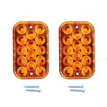 5 Inch Square Led Trailer Tail Park Turn Signal Lights