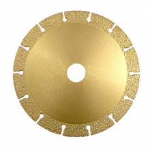 "Diamond Cutting Disc For Angle Grinder 5-15/16""  x 7/8"" x 31/32"""