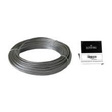 "Galvanized Cable 3/16"" x 100' Capacity 840 Lbs 7x19"