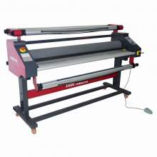 Pneumatic Full Automatic Wide Format Heat Assisted Cold Laminator P1
