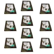 10 pcs Poly Tarp 12' x 16' Camouflage 3 oz Multi Purpose Waterproof