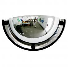 18'' Dia Acrylic Half Dome Mirror 180 Degree Viewing Angle