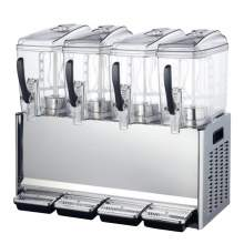 Quadruple 3 Gallon Bowl Refrigerated Beverage Dispenser