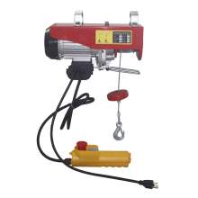 39 ft Electric Wire Rope Hoist 660lbs Single 1320lbs Double Line Cap.