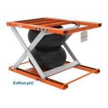 EnKon Modular 2000lb Capacity A-Series Air Scissor Lift Tables (Lift Only)