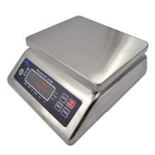 Washdown LED Digital Compact Bench Scale, 16lb/7.5kg x 0.002lb/1g