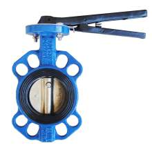 """3"""" Wafer Butterfly Valve Resilient Seated Cast Iron 232PSI"""