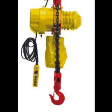 Electric Chain Hoist, 4400lbs Capacity 10' Lift 380V 50HZ 3 Phase