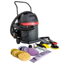 Dust-Free 1600W Dry Grinder Dust Collecting Polisher Air Sander