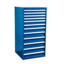 "Industrial Modular Drawer Cabinet 28 1/4"" x 28 1/2"" x 57"" 12 Drawers"