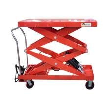 Hydraulic Manual Scissor Lift Table Cart 2200 LBS Max. Height 67 Inch
