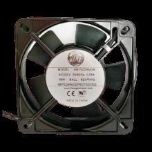4.3'' 220vac square Axial Fan, 0.1A, 18W, 2500rpm,1ph, lead wires
