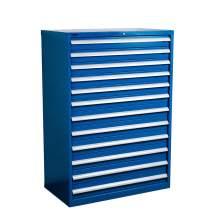 "Industrial Modular Drawer Cabinet 40 1/4"" x 22 1/2"" x 57"" 12 Drawers"