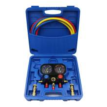 3 Way AC Manifold Gauge Set R410a R134 R22 with Charging Control Valve