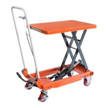"IDEAL LIFT Single Scissor Lift Table 1000 lbs 35.8""  lifting height"
